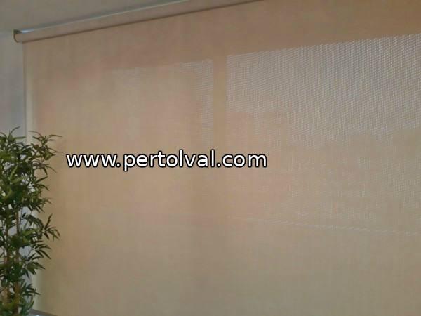 Reparación y instalación de toldo interior screen cordón y motor eléctrico
